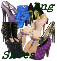 Shoes Png set1 by JEricaM