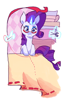 Rarity Sewing by Nifty-senpai