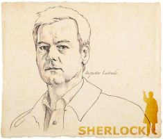 Inspector Lestrade by 403shiomi