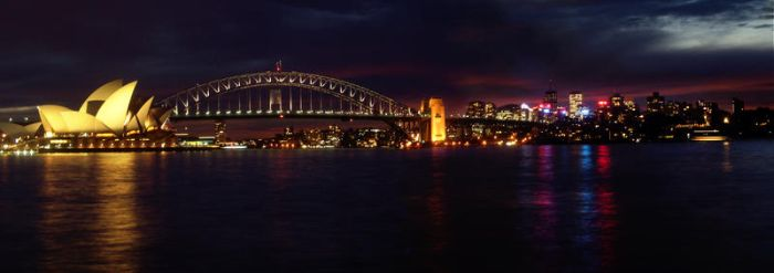 Night in Sydney by weddingc