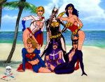 Women of the DC Universe colab by CDL113