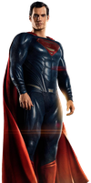 Justice Leagues Superman - Transparent Background! by Camo-Flauge
