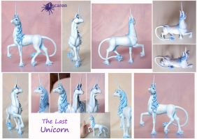 Last Unicorn - Sculpture by Escaron