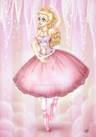 Barbie as the Sugar Plum Fairy by SugarcubeCake