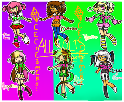 :ADOPTABLES: Ice Creamers OPEN NOW FREE!! by TeddersCat