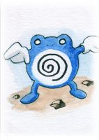 Poliwhirl Sketch Card by melllic