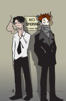No Smoking by BlitheFool