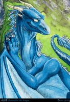 ACEO Samantha the dragon by theOlven