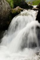 Waterfall at Balea by fulmination