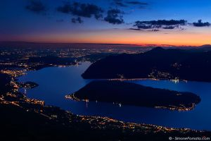 Monte Isola Twilight by SimonePomata