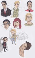 Good Omens promarker dump by AraReeve