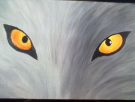 The eyes of the Wolf by kirablackwolf