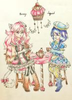 CE: Afternoon Tea by berrysquid