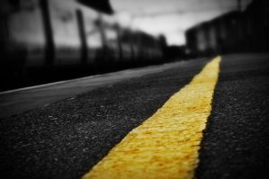 Follow The Yellow Straight Line by hollyelizabethjane