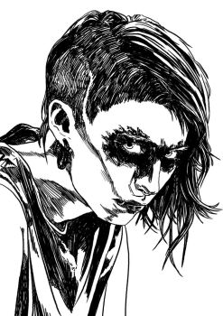 15.03.2015 - Lisbeth Salander by TidusFairSupertramp