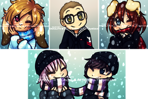 Winter Icon Batch 3 by miulk