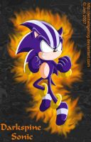 Darkspine Sonic by JenHedgehog