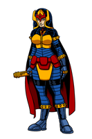 Heads Up 127 - Big Barda by SeanRM