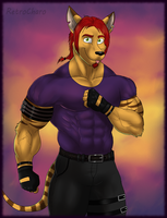 BG: Yeah, this guy has a red hair! by RetroCharo