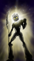 Toa Takua -- 'The Chronicler Becomes the Legend' by Llortor