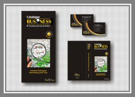 catalogue business community by artcoholicz