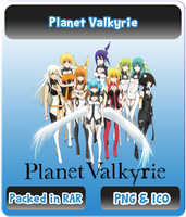 Planet Valkyrie - Anime Icon by Rizmannf