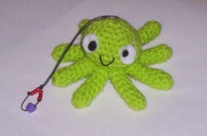 Crazy Octopus amigurumi by adorablestejidos