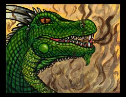 Green Dragon (Challenge 5) by Mad-Willy
