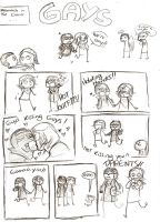 This is a very gay comic by thatoddowl