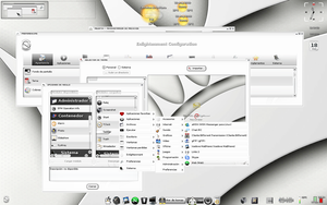 E17 Theme White3-Elive by verdegal37