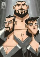 Zod, Ursa and Non by OtisFrampton