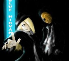 Tobi and Deidara by Tobitkiwi