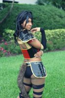 FL Supercon 2014: DragonBall Z Cosplay (Azuki) by MakeupSiren