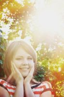Late august sunny smile by cxalena