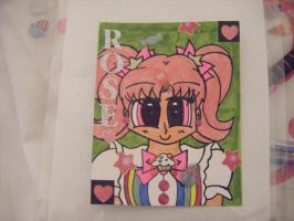 Commission - Confectionist Rose ACEO by Llama-lady