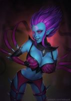 Evelynn (34th patreon pic) by essentialsquid