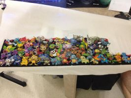Pokemon all Gens, second row almost done by samarin6