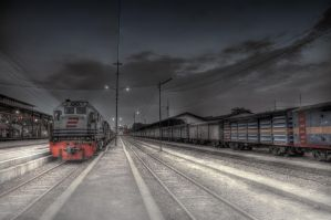 the train by HBPhotowork