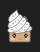 Double Iced Cupcake by misstaraleexo