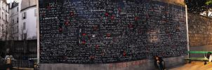 The Wall of love by il-Paciato