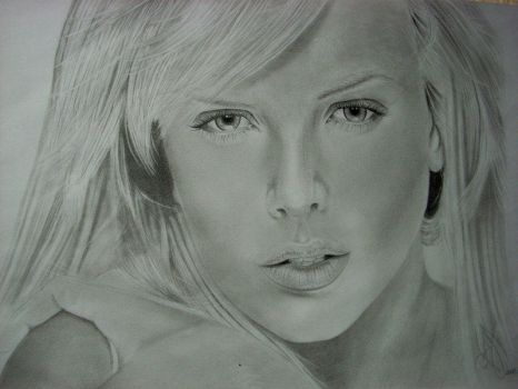 Charlize Theron by CordobitaDeviants