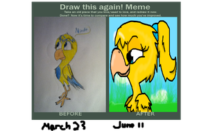 Meme, Before And After by MOVEDTOHAWKBUTT