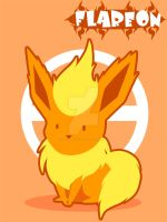 Flareon by SteveHoltisCool