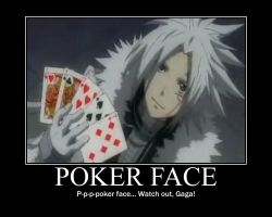 Oh oh oh oh poker face remix