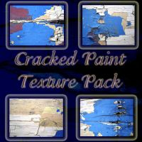 Cracked Paint Texture Pack by racehorse87-stock
