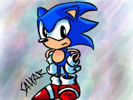 Sonic by STAT1C-X