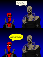 Deadpool and Nemesis by AraghenXD