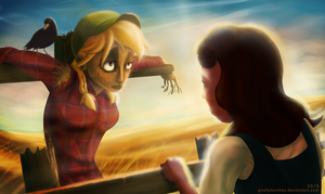 Dorothy Meets The Scarecrow by goofymoNkey