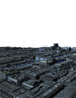 Stock Greeble City Landscape 2 by cgartiste