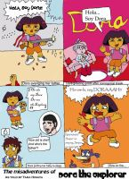 Misadventures of Dora by Digiwario